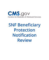 CMS cover pages_SNF Beneficiary Protecti