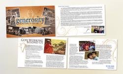 The Vine – Generosity brochure