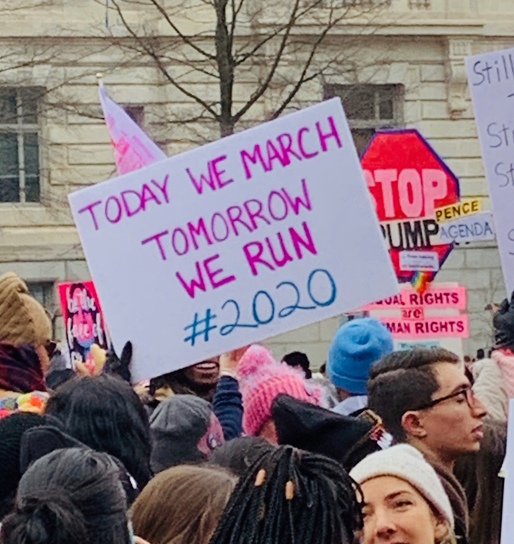2019 Women's March in Washington DC