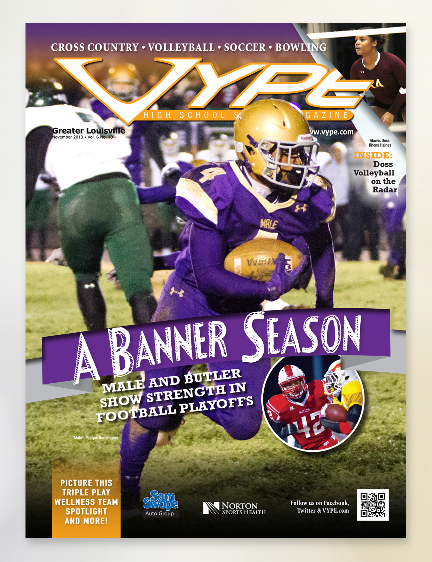 VYPE – Cover Oct 2013