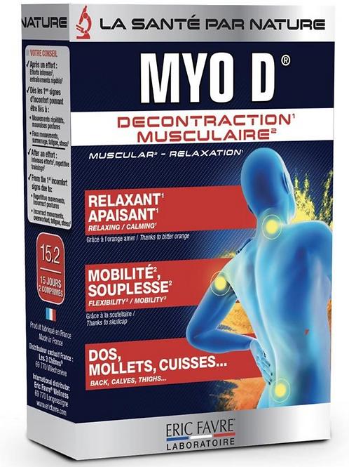 MYO D (Décontractant musculaire)