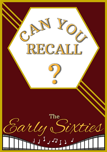 Can You Recall?-The Early Sixties