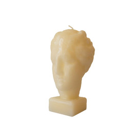greek goddess candle white