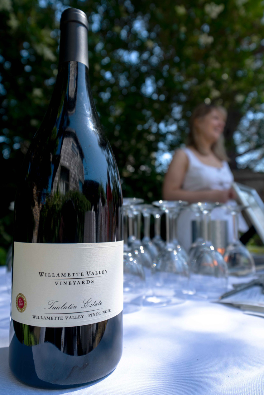 Willamette Valley Vineyards and Daniel House at the Croquet Classic