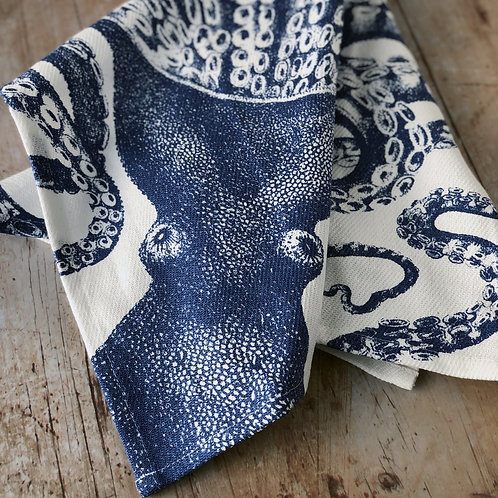 Blue Lucy Kitchen Towels Set of 2