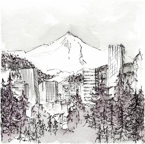 Mt. Hood & Portland