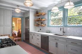 White Tiled Kitchen