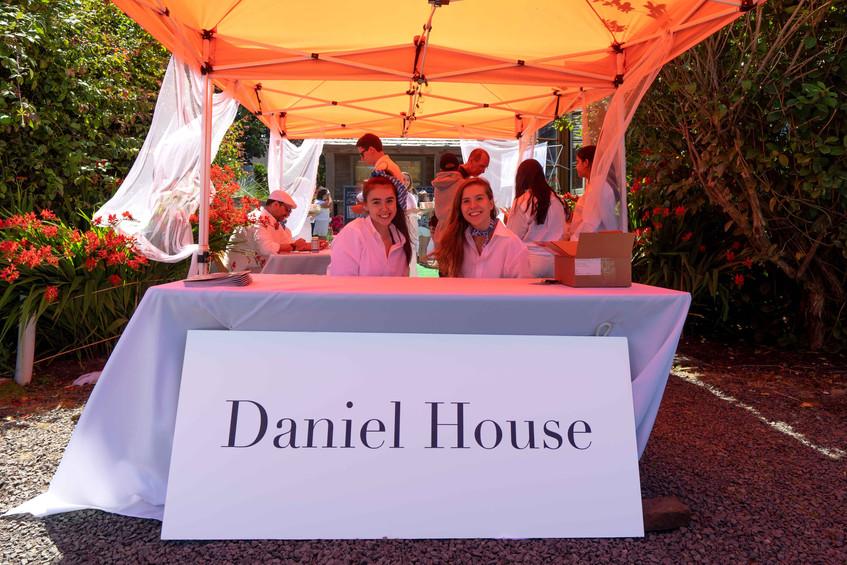 Daniel House croquet classic entrance in cannon beach Oregon