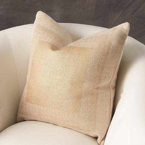 Jute Gold Pillow