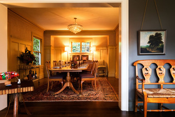 Formal dining rooms may be going away, but we still like them