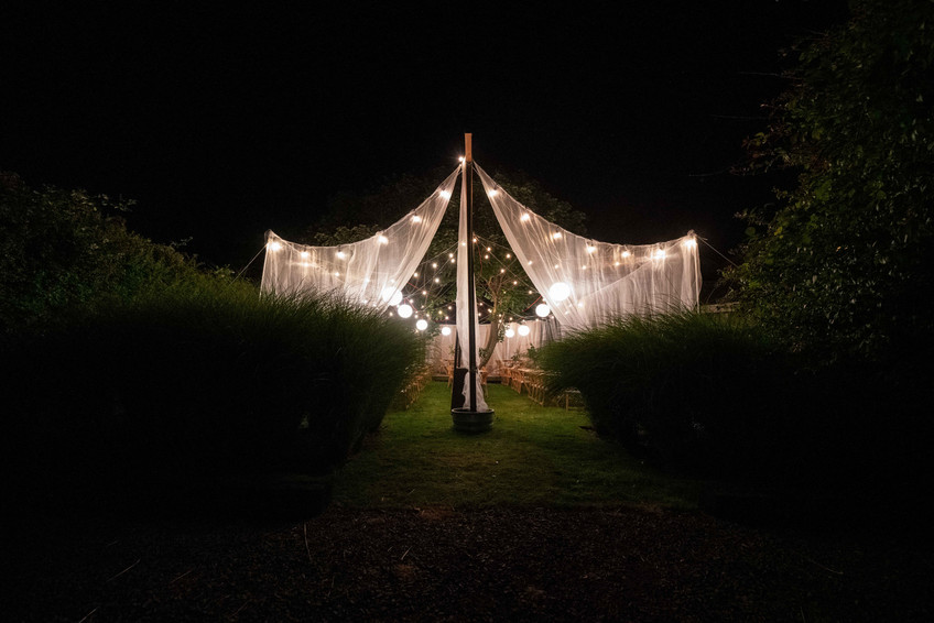 The tent for the 2019 Daniel House Croquet Classic; portland interior design; portland event design; portland party planning