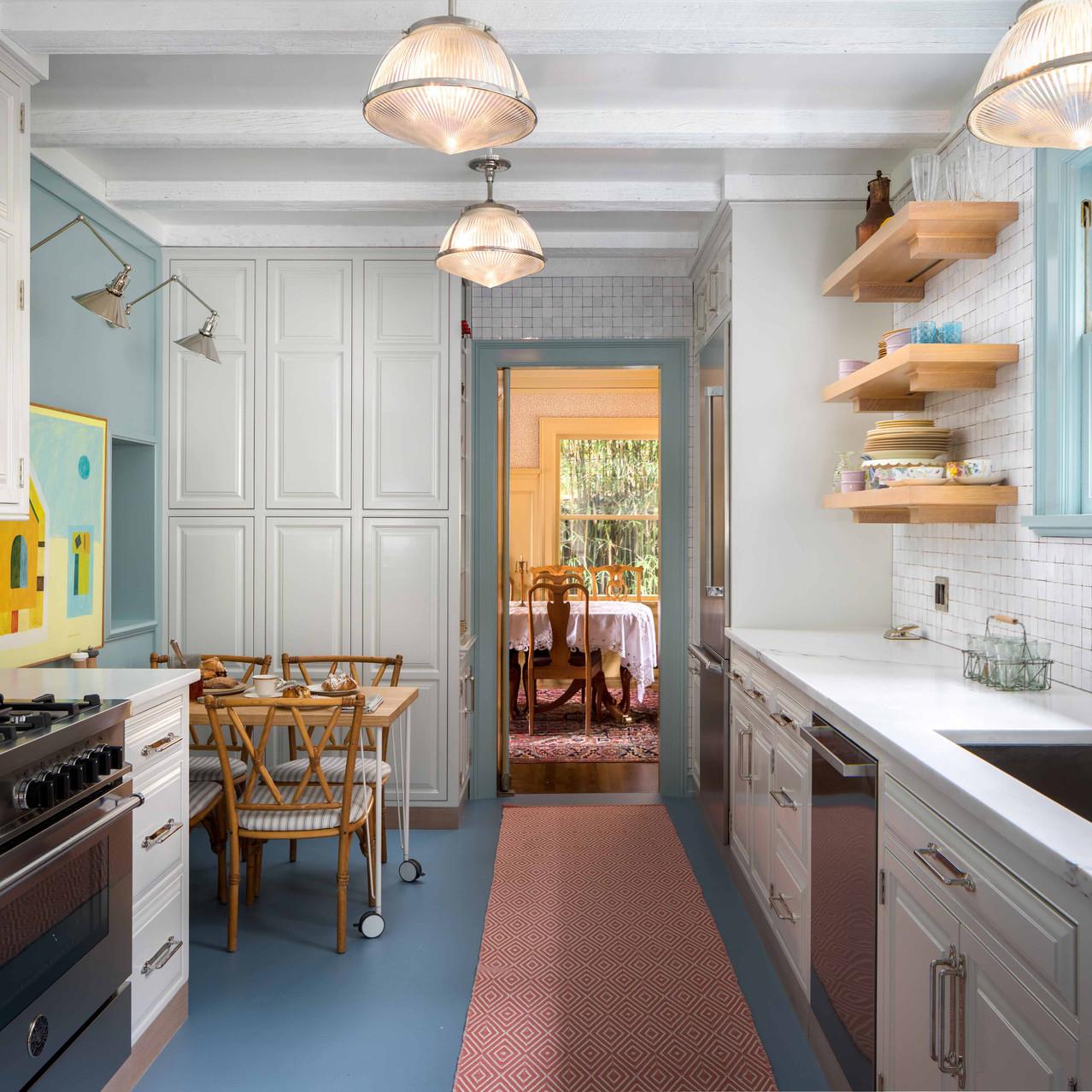 Bertazonni oven high kitchen design
