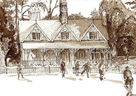 Cricket Pavilion, Oxford University