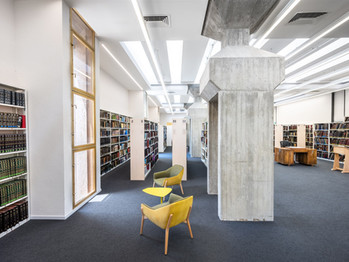 Von Jaffa nach Tel Aviv: die Sha'ar Zion-Beit Ariela Zentralbibliothek