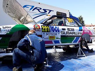 Subaru Legacy - Benoit Rousselot - First