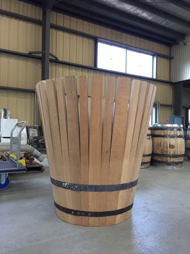 自家製作木桶