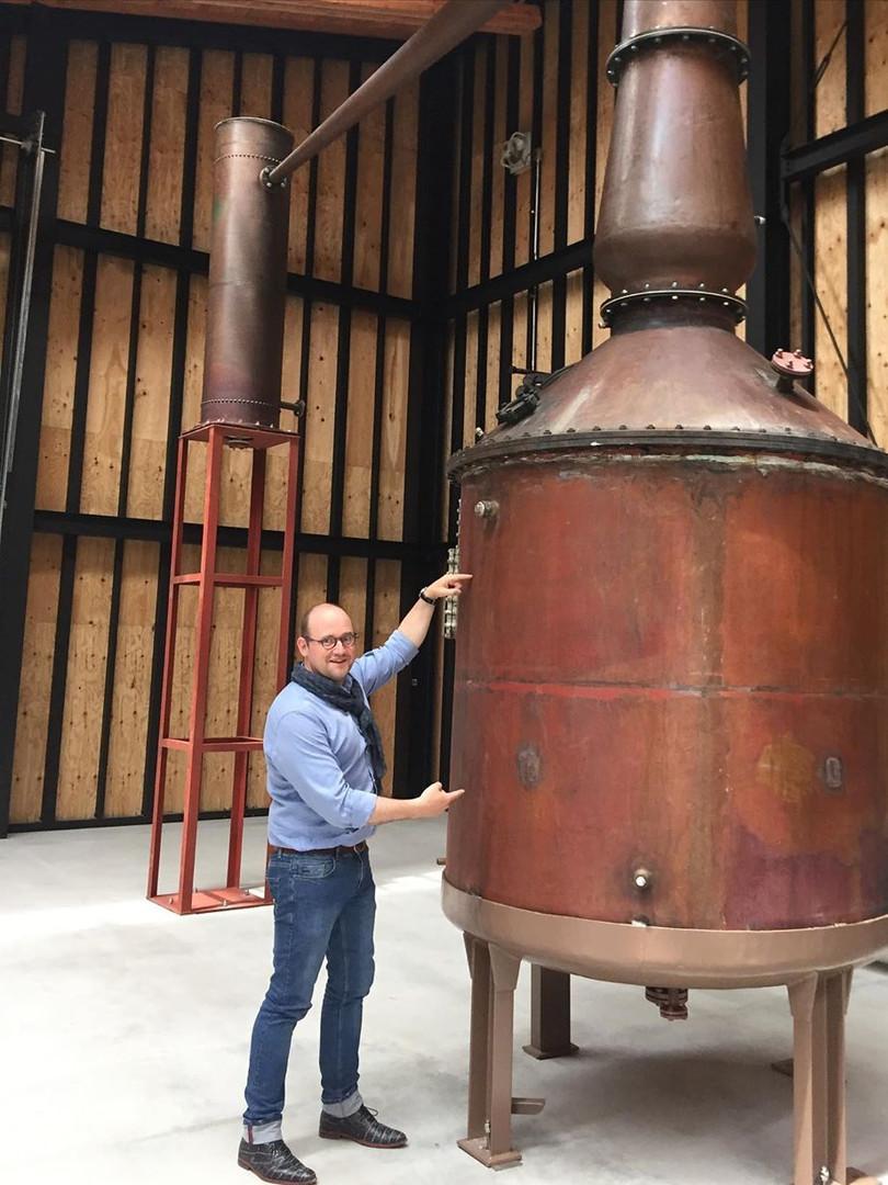 輕井沢的蒸餾器