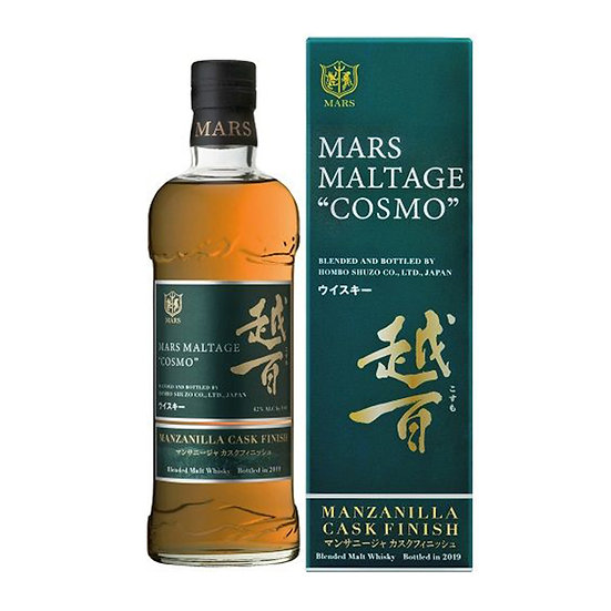 Mars 越百Cosmo - Manzanilla Cask Finish
