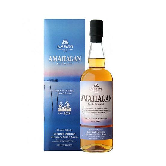 Amahagan World Blended Limited Edition Mizunara Malt & Grain
