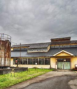 三郎丸蒸餾所 (翻新前)