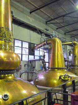 山崎的蒸餾器