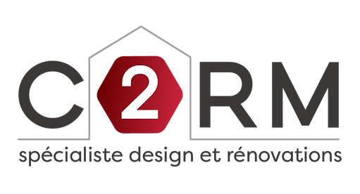 Logo C2RM Contruction Spécialiste design et rénovations