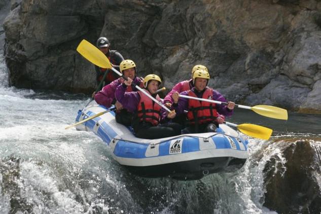 Raft sur le Guil