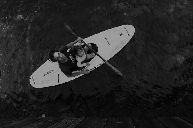 Initiation kayak