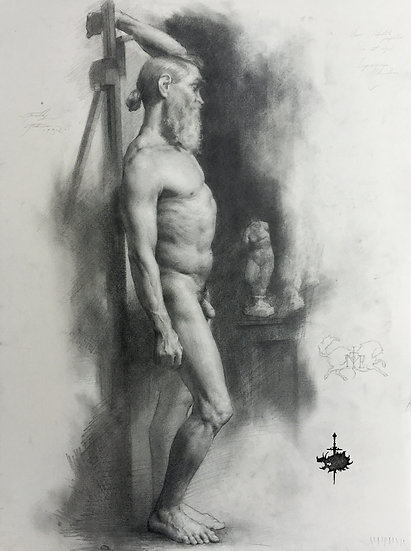 Academic figure drawing with venus