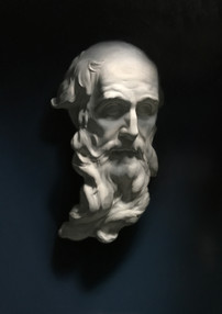 Cast painting of St. Andrew
