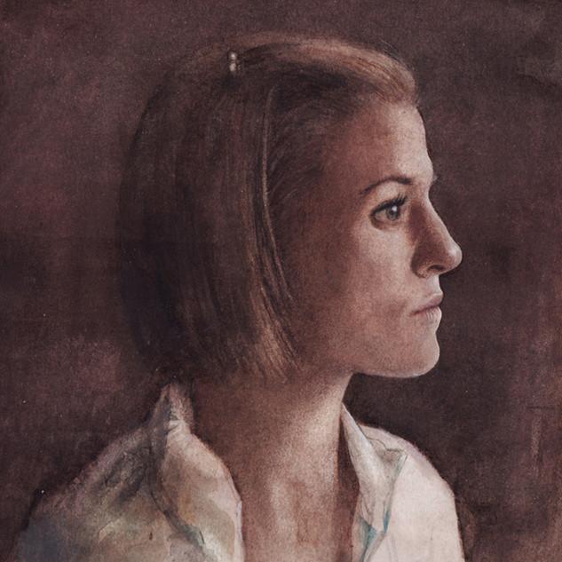 Woman en Profile