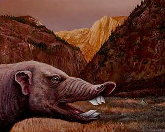 Prehistoric Hog