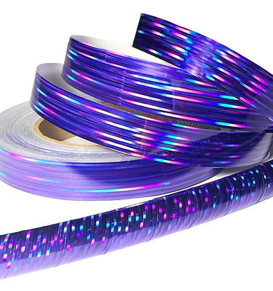 Purple Prism Taped Hoop