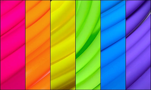 UV Rainbow HDPE Sectional Hoop
