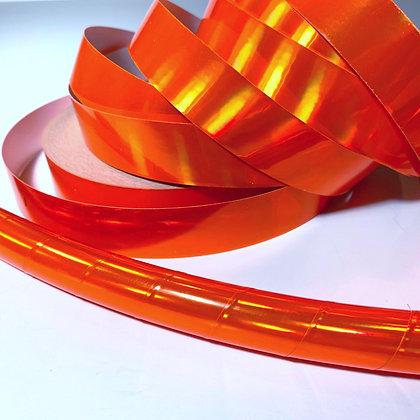UV Orange Rainbow Sheen Taped Hoop