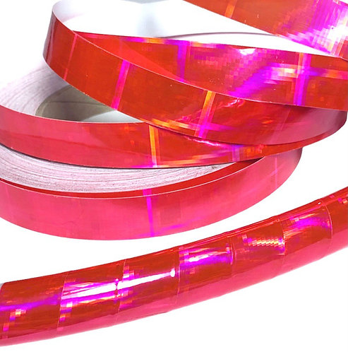 Pink Crossfire Taped Hoop