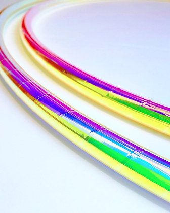 Rainbow Dream Taped Hoop