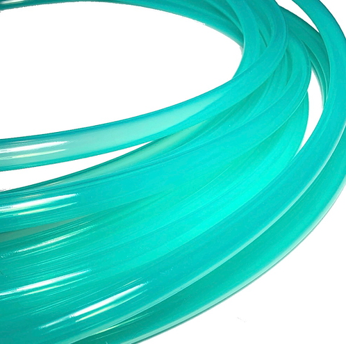 UV Teal Gloss Polypro Hoop