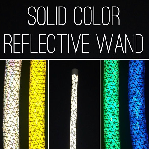 Solid Color Reflective Levitation Wand