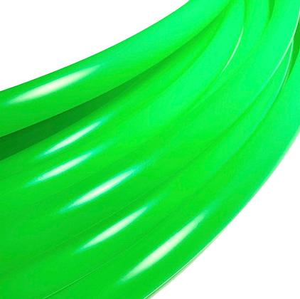 UV Peridot Polypro Hoop