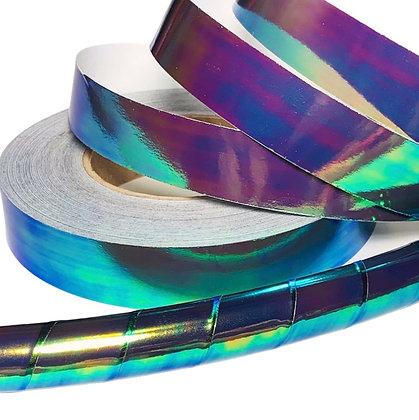 Black Opal Taped Hoop