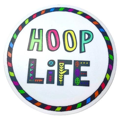 Hoop Life Circle Sticker