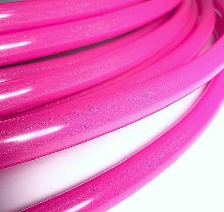 UV Pink Stardust Hoop