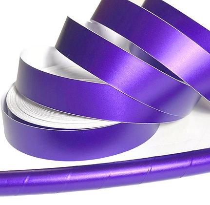 Purple Satin Taped Hoop