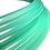 Thumbnail: UV Mint Stardust Polypro Hoop