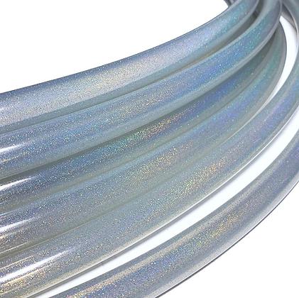 Unicorn Clear Stardust Polypro Hoop