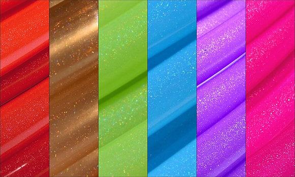Rainbow Stardust Sectional Polypro Hoop