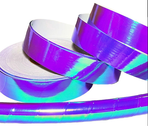 Electric Violet Morph Taped Hoop