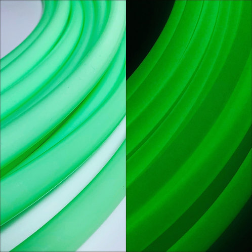 UV Green Glow in the Dark Polypro Hoop