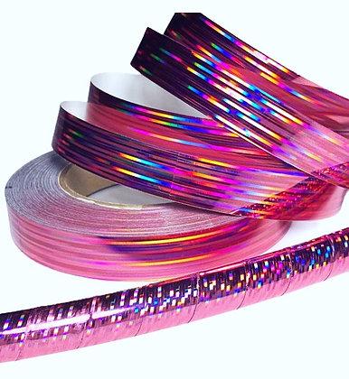 Pink Prism Taped Hoop